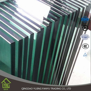 10mm thick transparent tempered glass with CCC certificate