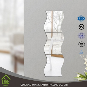 2-8mm cheap frameless large wall mirrors wholesale best price