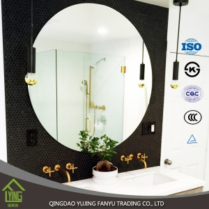 3mm 4mm 5mm 6mm large decorative mirrors with polished edge