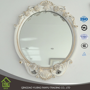 3mm 4mm China mirror factory framed wall mirror for home decoration
