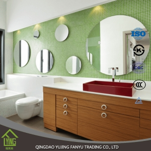 3mm 4mm stick on wall mirrors beveled wall mirror wholesale