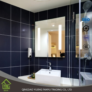 5mm LED Bathroom mirror with back light