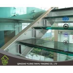 6.38mm, 8.38 mm clear laminated glass