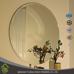 Beveled mirror kitchen wall tiles Building material mosaic mirror tiles