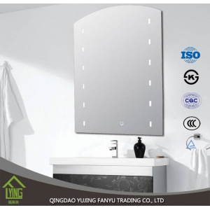 Cheap Price Silver Material Bathroom Mirror Attached Light Mirror Manufacturer China Silver Mirror Supplier China Aluminium Mirror Supplier China Bathroom Mirror Manufacturer China