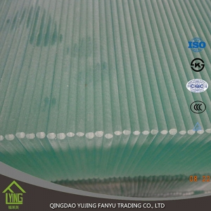 China Qingdao tempered glass per square meter price