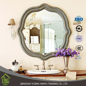 China factory supply living room wall mirror all kinds of decorative wall mirror