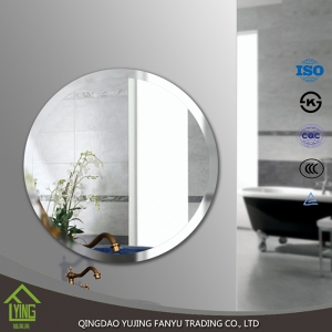 China round shape processing mirror