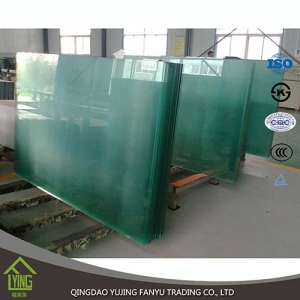 Clear float glass price for commerical building 3mm 4mm 5mm clear float glass with edge work