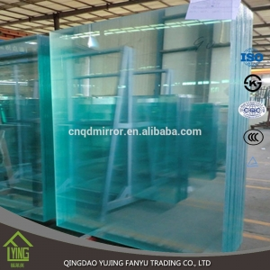 Custom 3 - 6mm thickness toughened glass Chinese supplier
