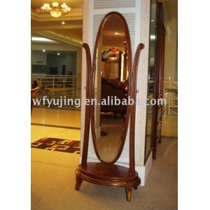 French style full-length mirror / standing dressing mirror