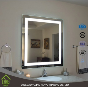 New design high Efficiency Decorative LED Bathroom Mirror made in China.