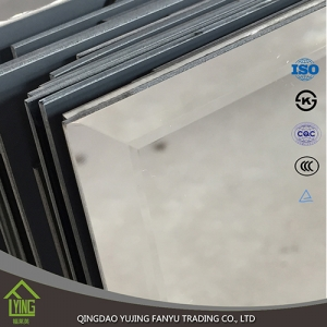 Shandong mirror factory 2mm - 12mm silver mirror polished mirror