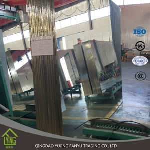 Top quality silver mirror glass