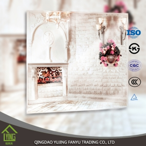 Wholesale Best quality silver mirror with polish bevel edge wall mirror design decorative