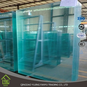 Wholesale float flat edge polished 10mm 12mm clear glass sheet with customers design