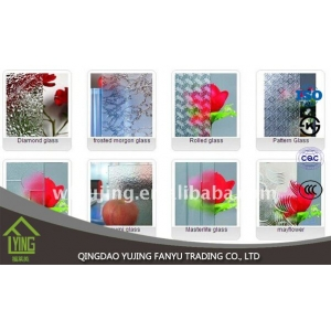 Yujing Tempered Low Iron Patterned Glass factory
