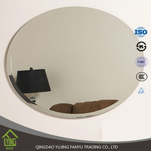 beveled edge oval bathroom mirror manufacturer in China