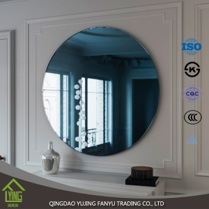 china clear sheet glass colored mirrors with low price