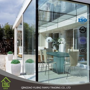 convenient tempered glass for commercial building