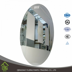 cosmetic mirror glass mirror Yujing factory wholesale