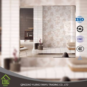 decorative bathroom mirror low price good design 2- 8mm decorative bathroom side wall mirrors tile high