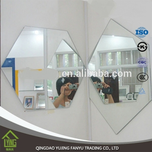 frameless mirror decorative bathroom mirror