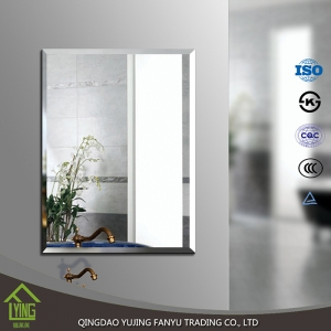 good grade 3 mm aluminum sheet mirror for the bathroom and interior decoration