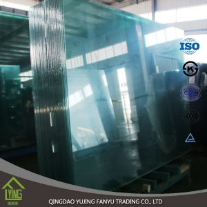 unbreakable commercial building security tempered glass