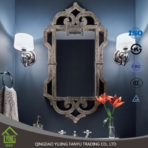 wall decor 1.5/2.7/3/4/5/6mm thickness polished Aluminum Mirror for direct sales