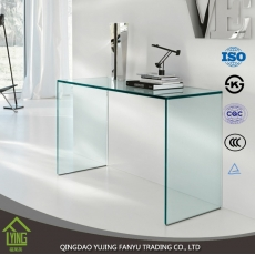 China 10mm furniture tempered glass produced in a Chinese factory factory