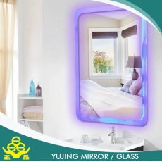 الصين مصنع smart mirror for bathroom price / touch screen silver mirror intertek mirror