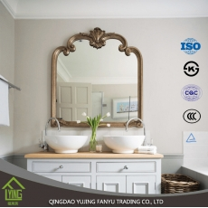 China 3-6mm any size bathroom mirror factory