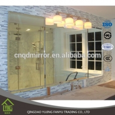 China 3mm aluminum mirror sheet frameless beveled edge mirrors wholesale factory