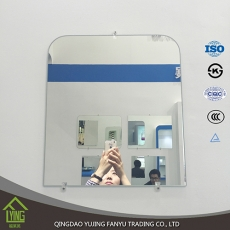 China 4mm 5mm bevel wall mirror for bathroom mirror factory