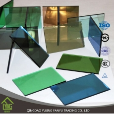 China Factory direct sale 3-12mm grey reflective glass for windows factory