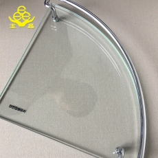 China 8mm tempered corner glass wholesale factory