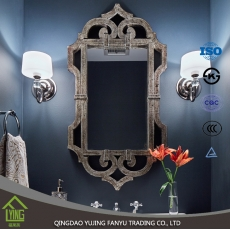 La fábrica de China Chinese supplier silver mirror bathroom Mirror with round shape for decoration