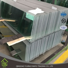Custom Laminated balustrade railing glass tempered glass with CE&ISO certificate