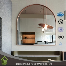 China High quality popular bright silver wall mirror with low price factory