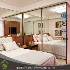 La fábrica de China Hot sale several kinds of frameless mirror,silver mirror,aluminum mirror