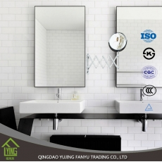 China Hot Sales novo design de boa qualidade 1830 * 2440mm Silver Mirror fábrica