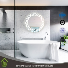 الصين مصنع Hot selling beauty bathroom led vanity mirror with lights for sale
