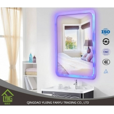 China New arrival modern LED Full Length Wall Mirror with Light Illuminated manufacturer factory