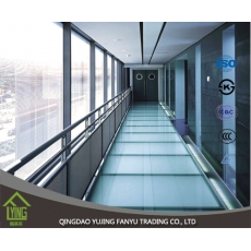 China Manufactory clear float/sheet glass Tempered Glass cost per square foot For window factory