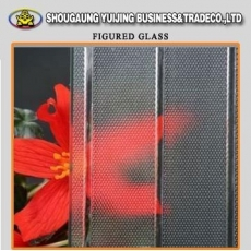 China Manufacture wholesale flora patterned glass factory