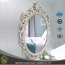 China Supply wall mirror flower shaped wall mirrors home decor hanging factory