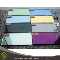 China Fanyu wholesael colored mirror colored mirror glass factory