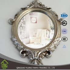China aluminum mirror supplier bathroom mirror bathroom Mirror with oval shape factory