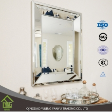 China circle mirrors furniture Silver mirror extra large mirrors clear float glass factory